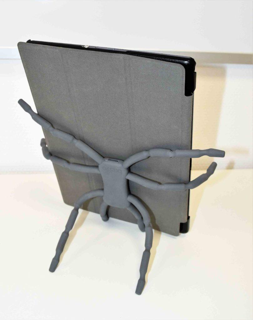 Spiderpodium für das Tablet.