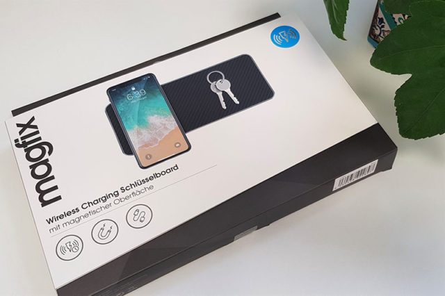 Wireless Charging Schlüsselboard