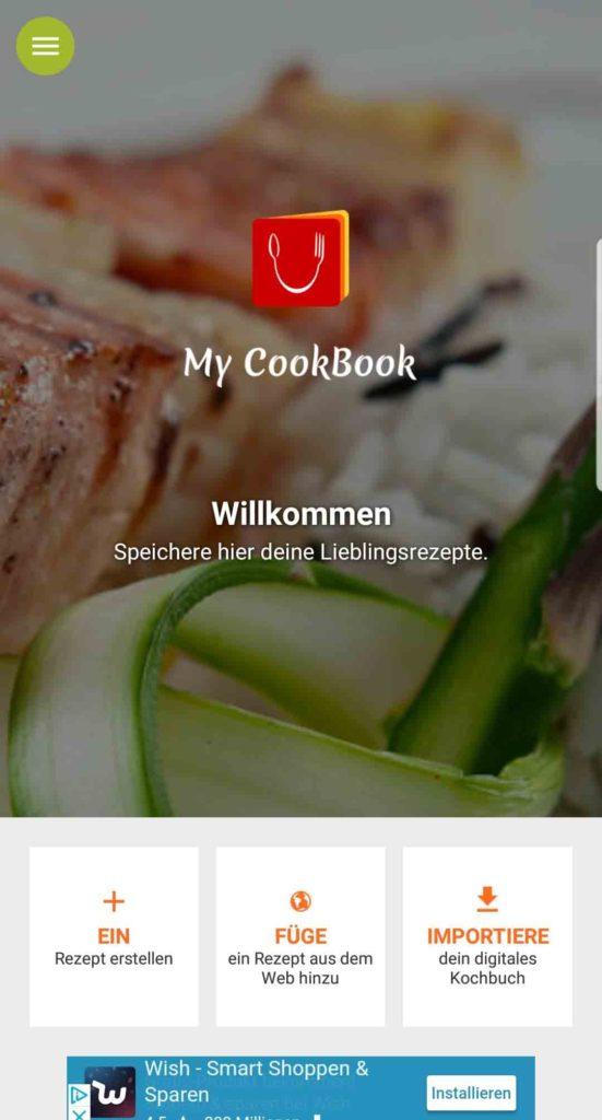 My CookBook ist mehr als nur ein Rezeptmanager.