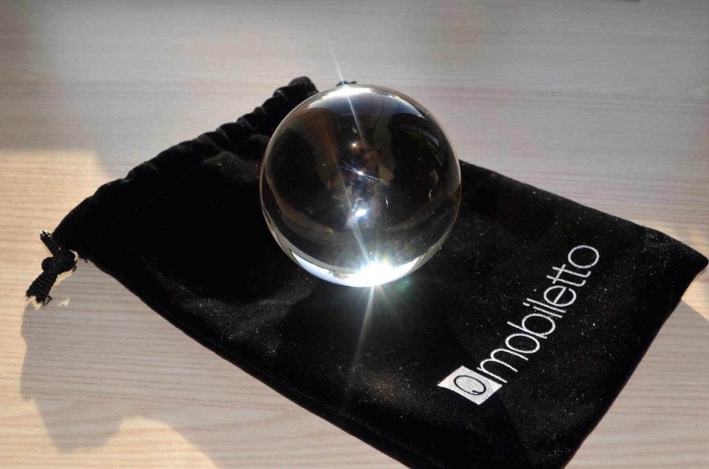Foto-Glaskugel von Mobiletto