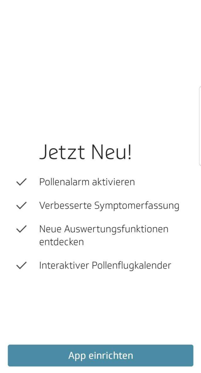 App des Monats Husteblume 2.0