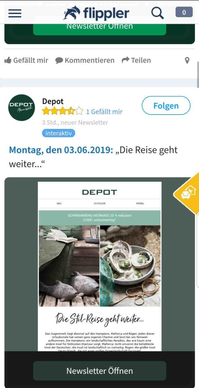 App des Monats: Prospekte Flippler