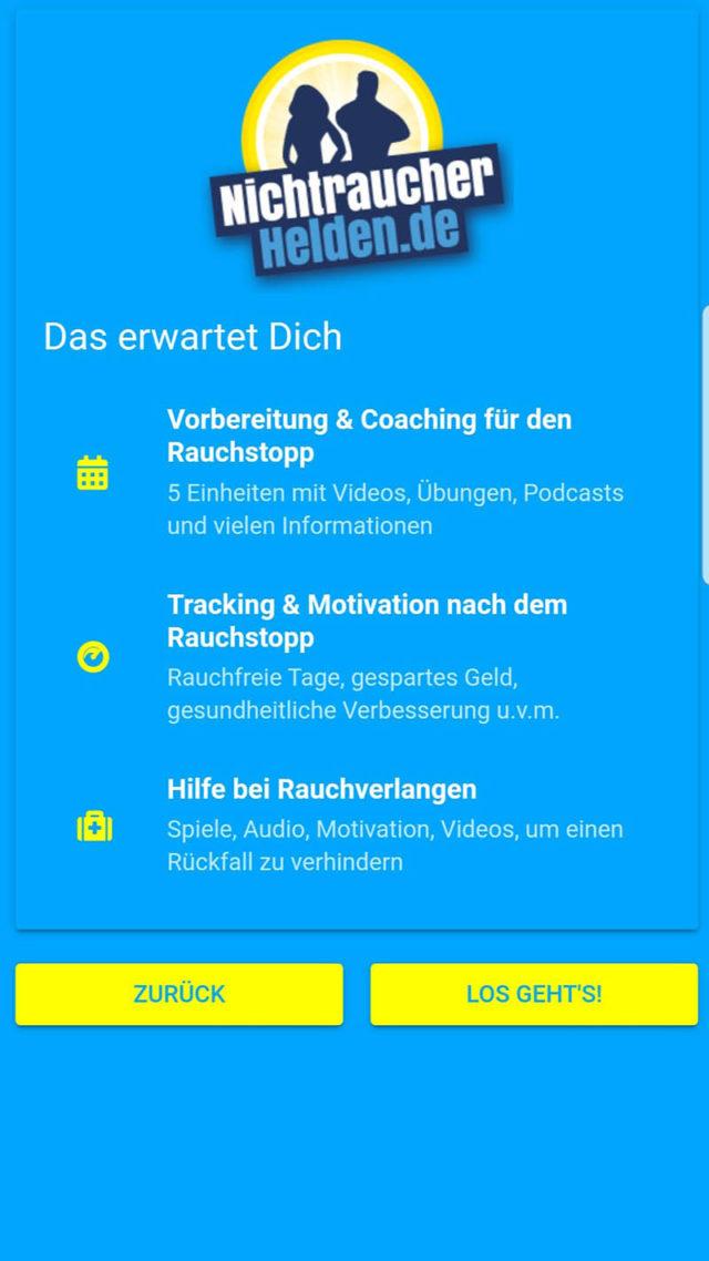 NichtraucherHelden App