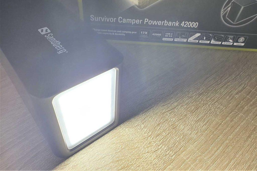 Camper Powerbank Taschenlampe