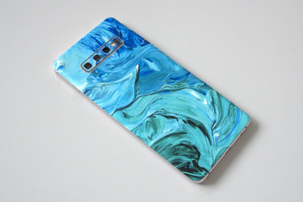 Green MNKY Backcover Skin