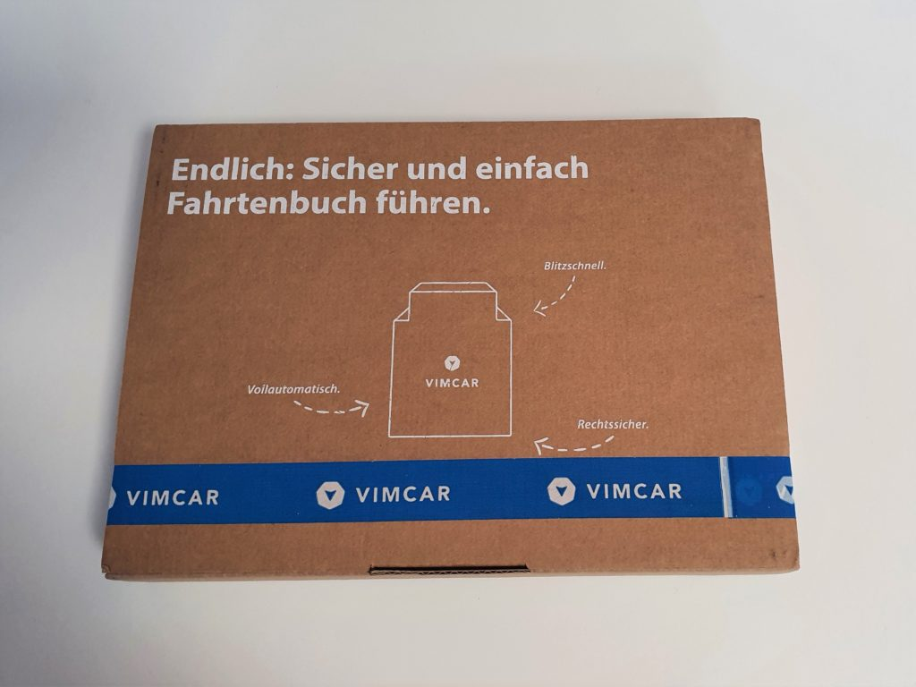 VIMCAR digitales Fahrtenbuch